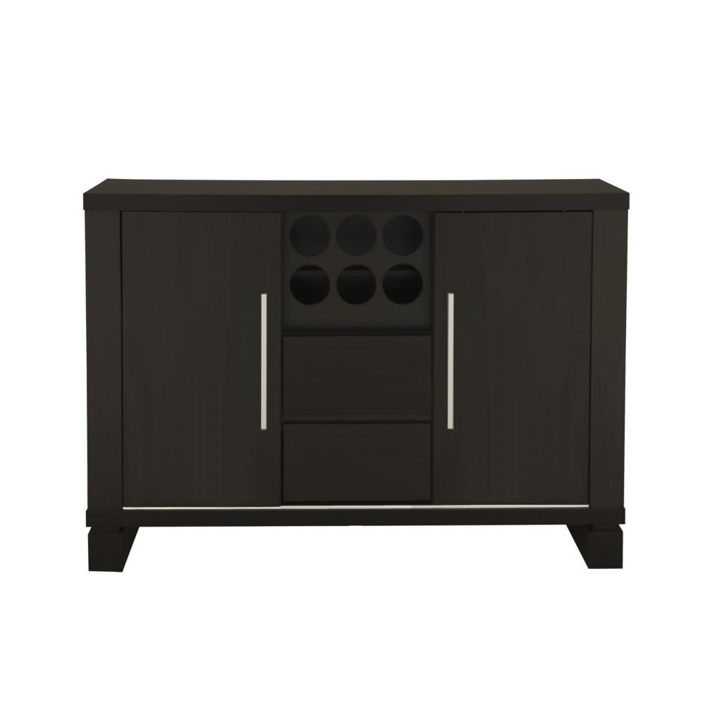 "450-141 - Furniture of America™ 30"" Benston Cappuccino Buffet Table"