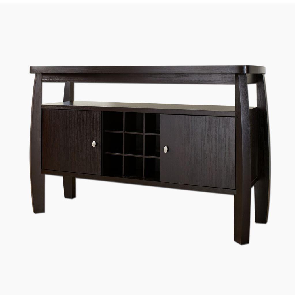 "450-143 - Furniture of America™ 51"" Avant Dark Espresso Buffet Table"