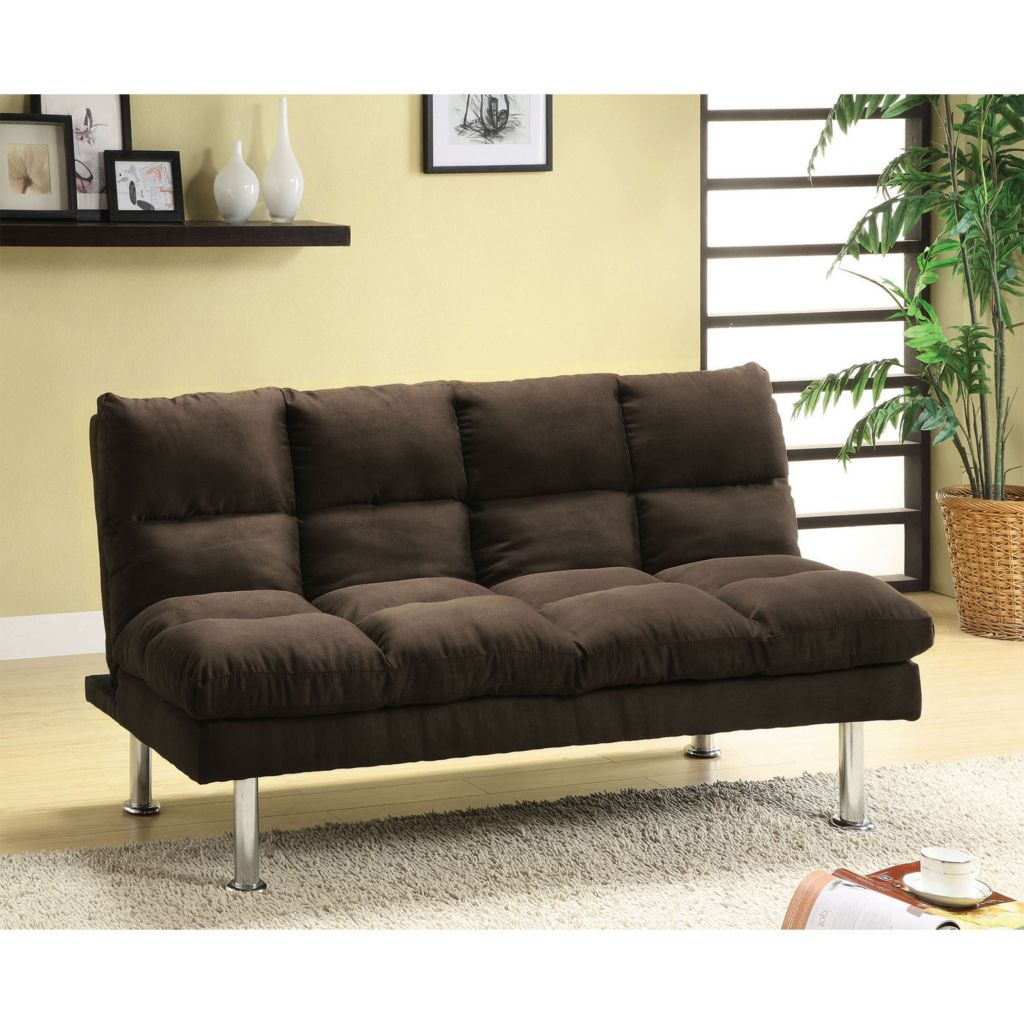 "450-149 - Furniture of America™ 67"" Mirabell Youth Microfiber Futon"