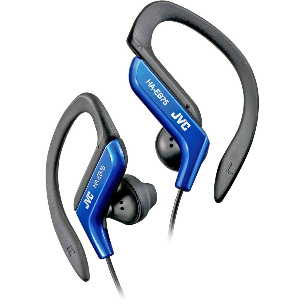 450-167 - JVC In-Ear Bass Enhancement Sports Headphones w/ Adjustable Ear Clip