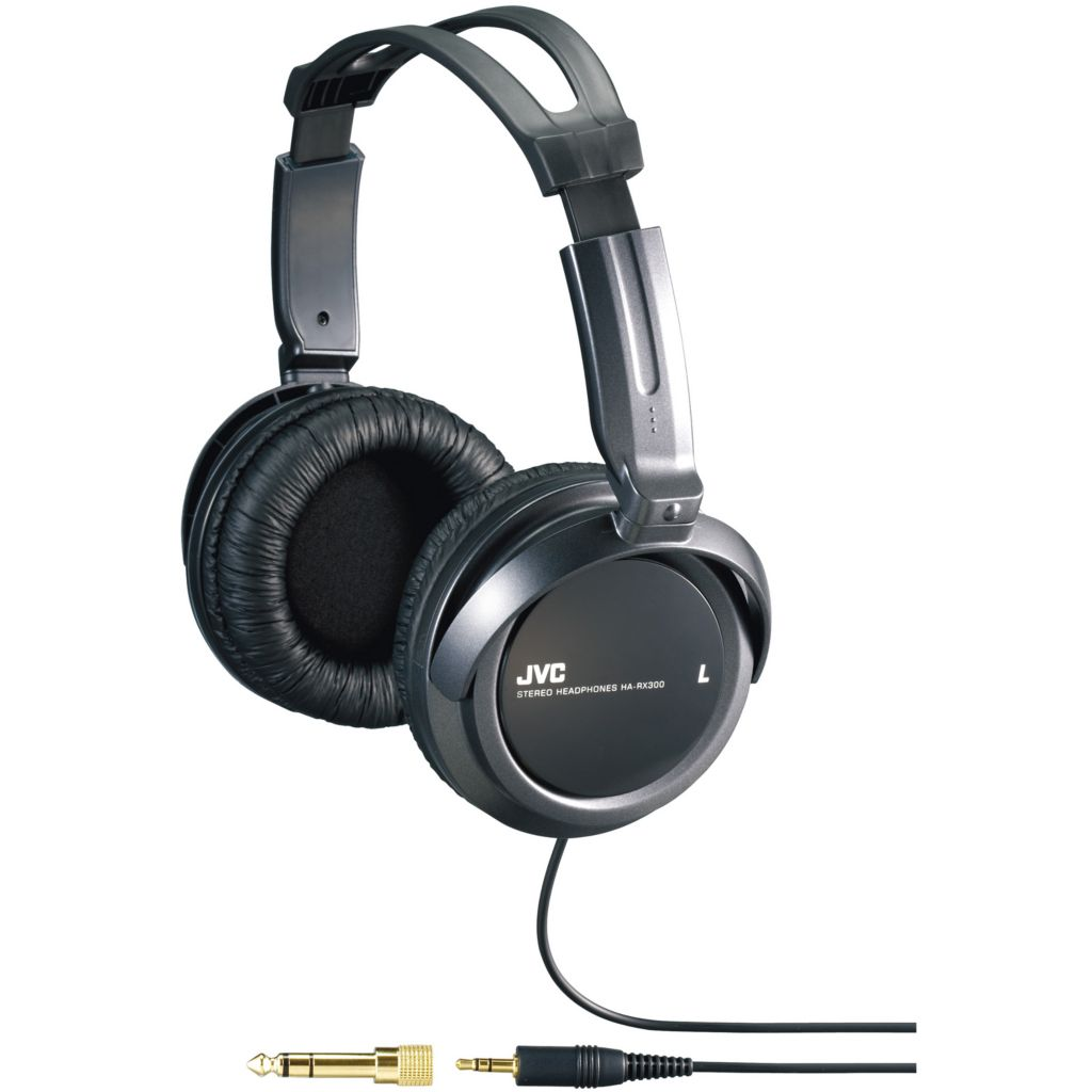 450-179 - JVC Full-Size Headphones w/ 40mm Drivers