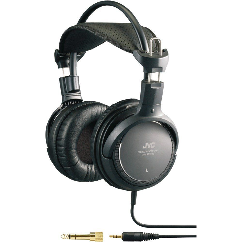 450-182 - JVC High-Quality Full-Size Headphones w/ Acoustic Lens Structure