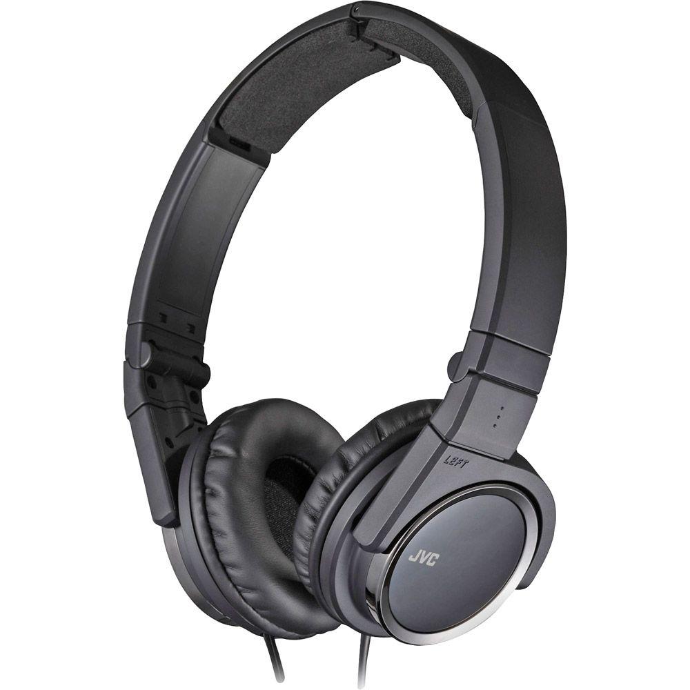 450-184 - JVC Three-Way Foldable On-Ear Lightweight Headphones