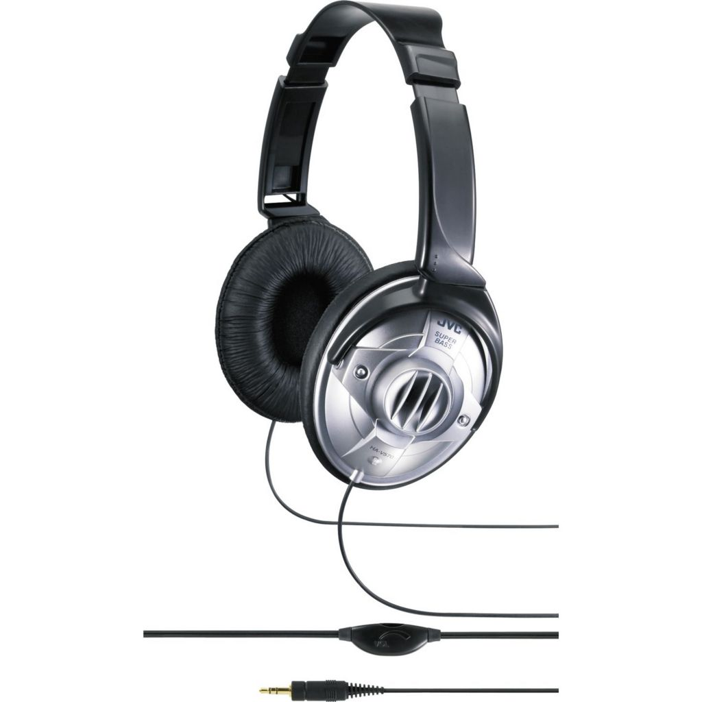 450-186 - JVC Full-Size DJ Headphones w/ In-Line Volume Control