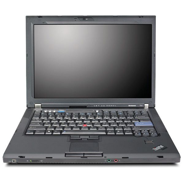 "450-270 - IBM 14"" T61 Intel Core 2 Duo 1.8GHz 2GB RAM/100GB HDD Windows® 7 Notebook - Refurbished"
