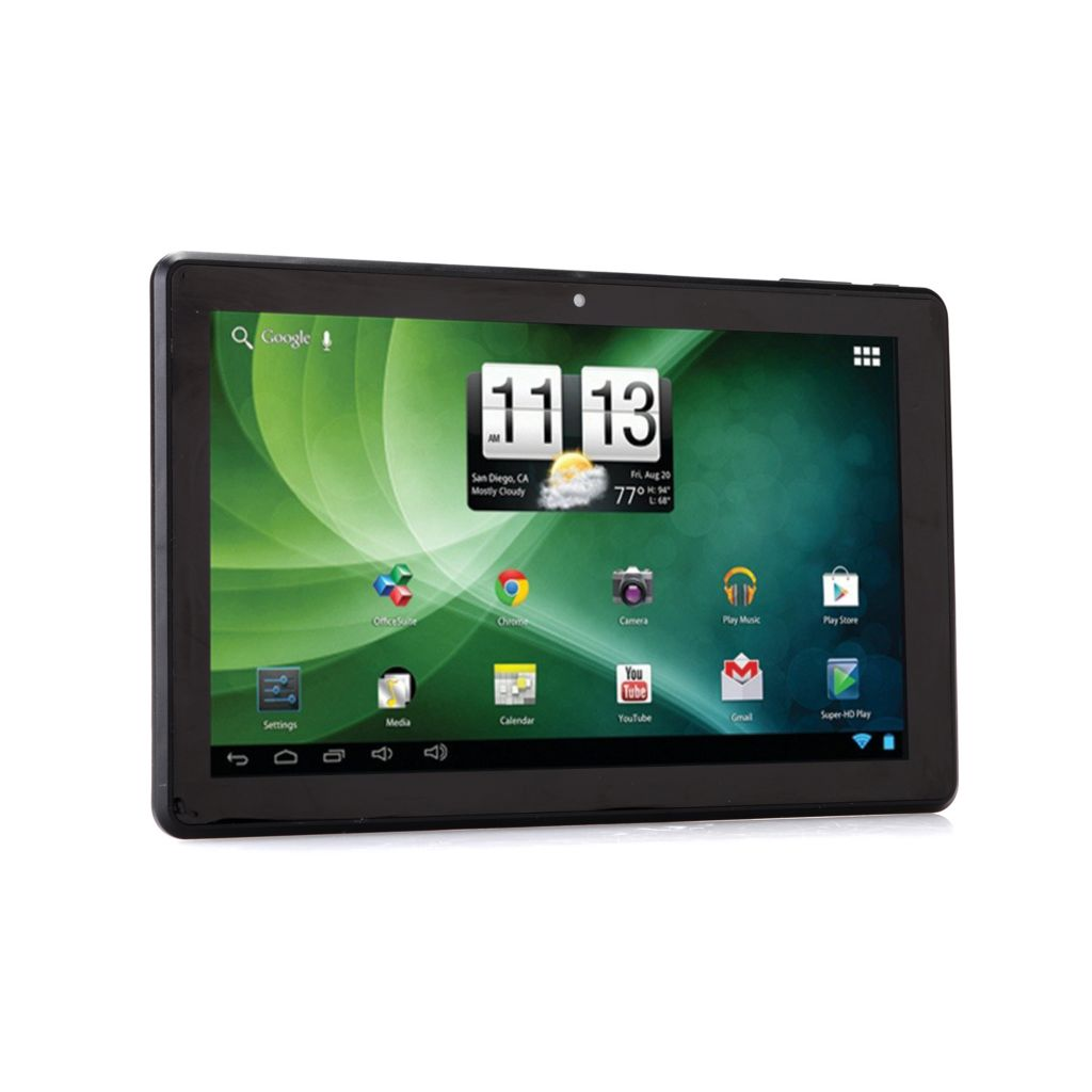 "450-290 - Trio Stealth G2 10.1"" Elite Android™ 4.1 Dual-Core Tablet w/ Google Play"