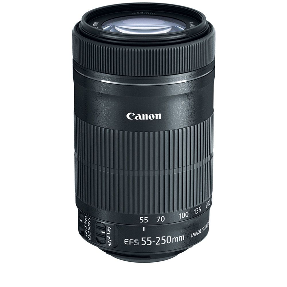 450-336 - Canon EF-S 55-250mm f/4-5.6 IS STM Telephoto Zoom Lens
