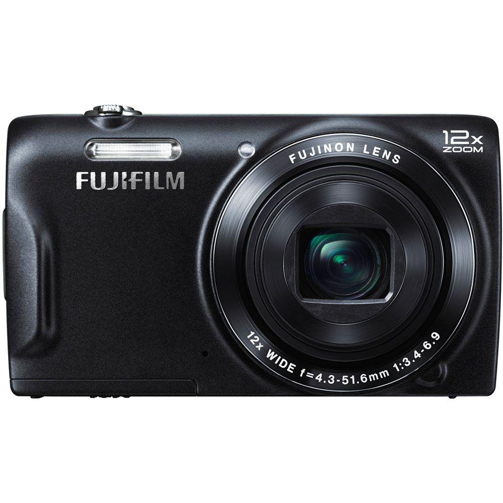 450-341 - Fujifilm FinePix 16MP T555 Black Digital Camera
