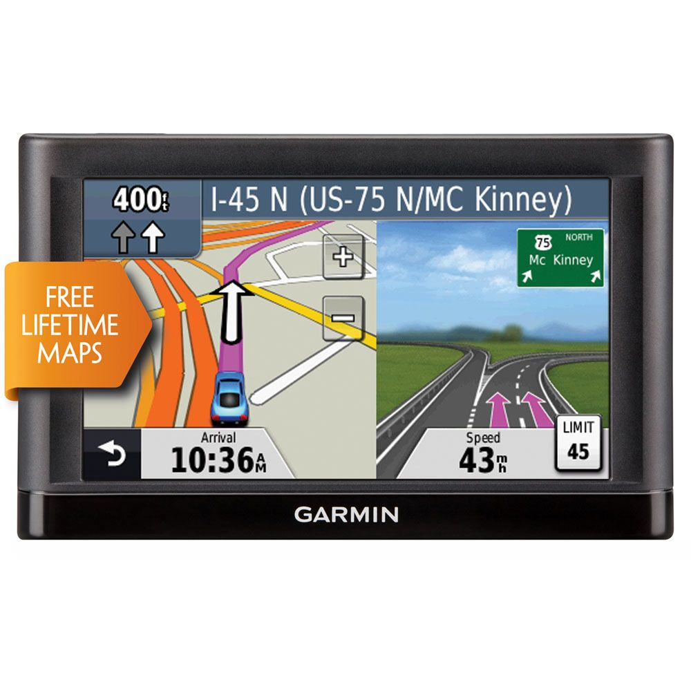 "450-343 - Garmin nüvi 5"" GPS Navigator w/ U.S. Coverage & Lifetime Map Updates"