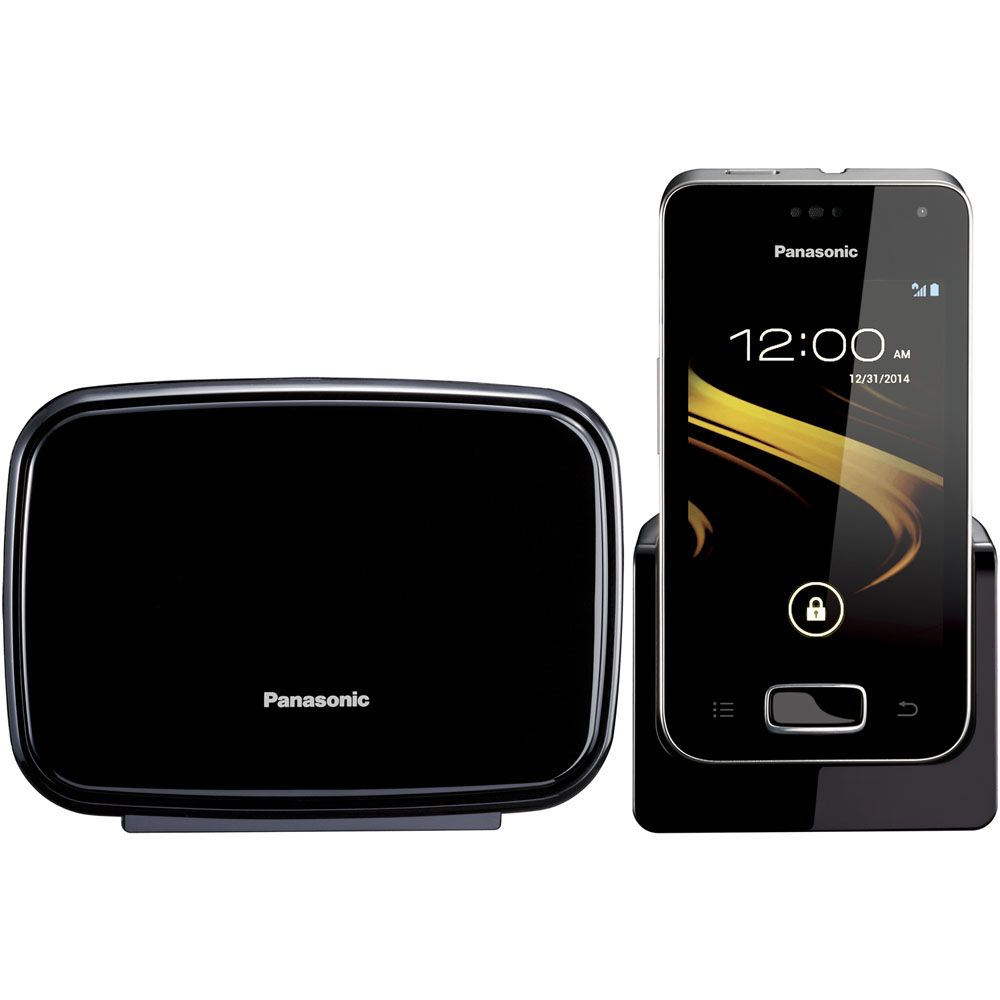 450-354 - Panasonic Multi-Function Cordless Phone w/ One Touchscreen Handset