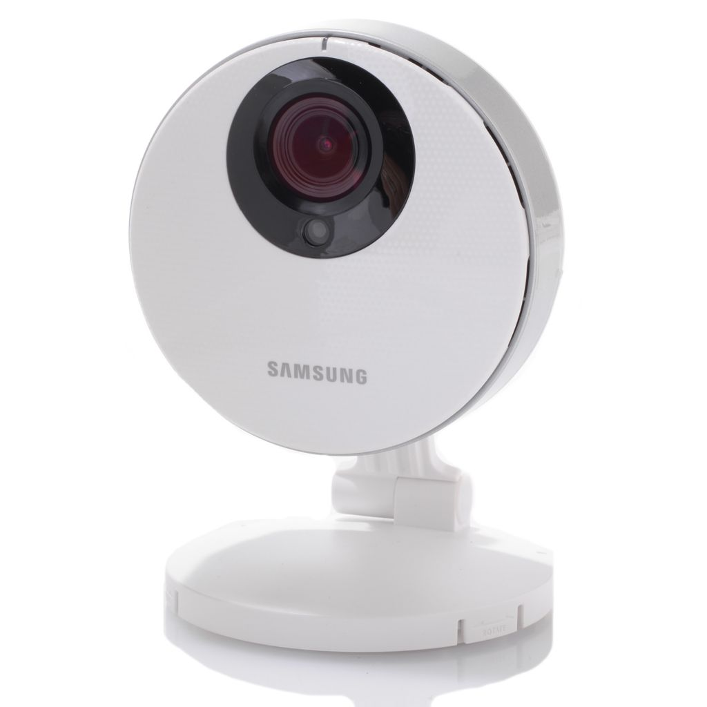 450-437 - Samsung SmartCam 1080p Full HD Motion Detect & Two-Way Talk Camera w/ Wi-Fi