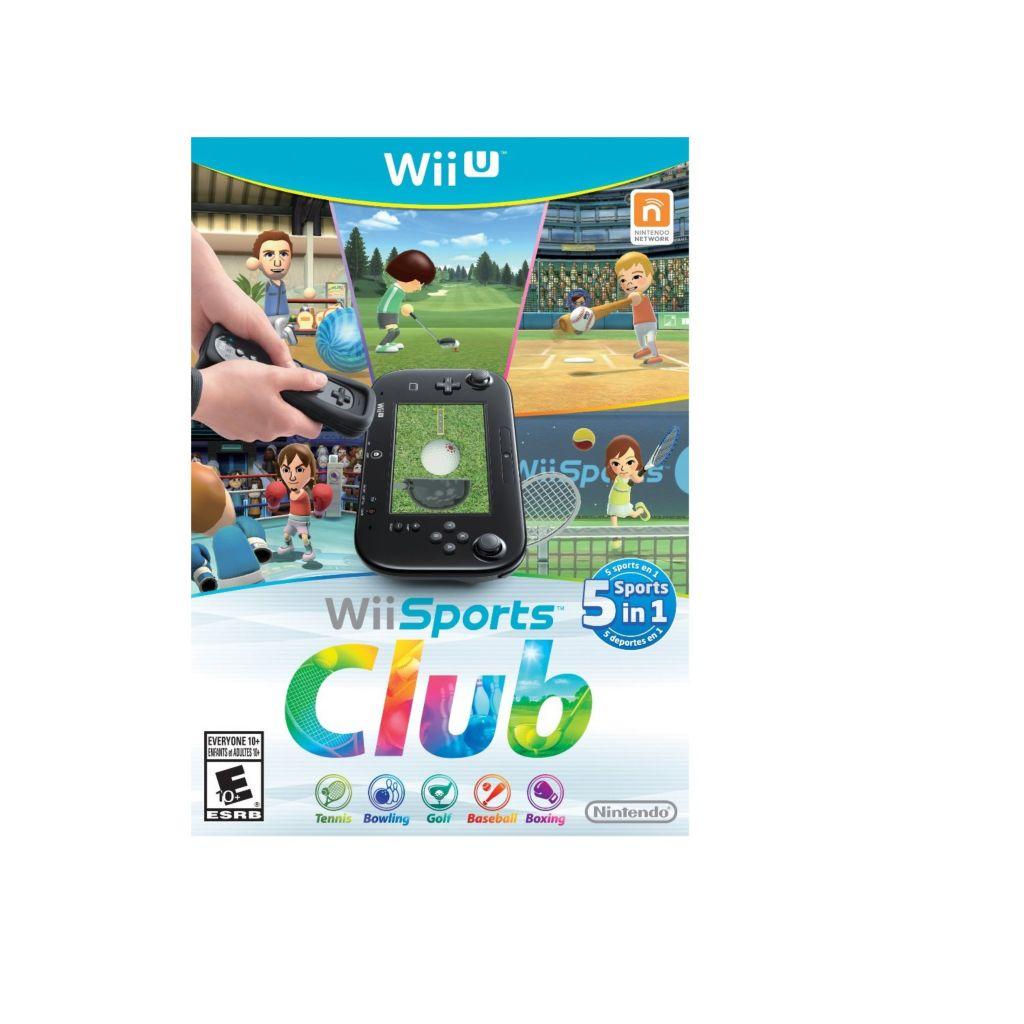 450-440 - Wii Sports Club Nintendo Wii U Game