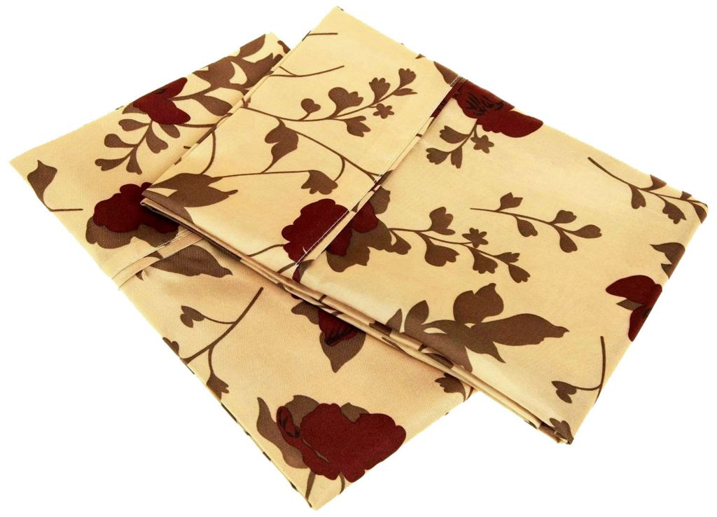 450-470 - 1800 Series by Impressions Microfiber Elm Leaves Pillowcase Pair