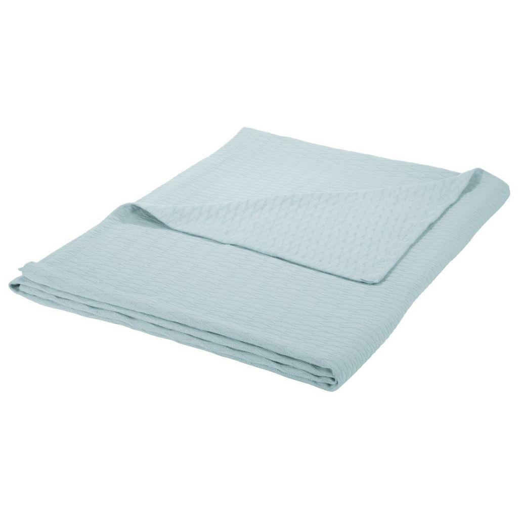450-492 - Impressions Luxurious 100% Cotton Diamond Pattern Blanket