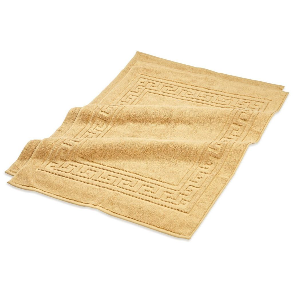450-494 - Superior Set of Two 100% Egyptian Cotton Bath Mats