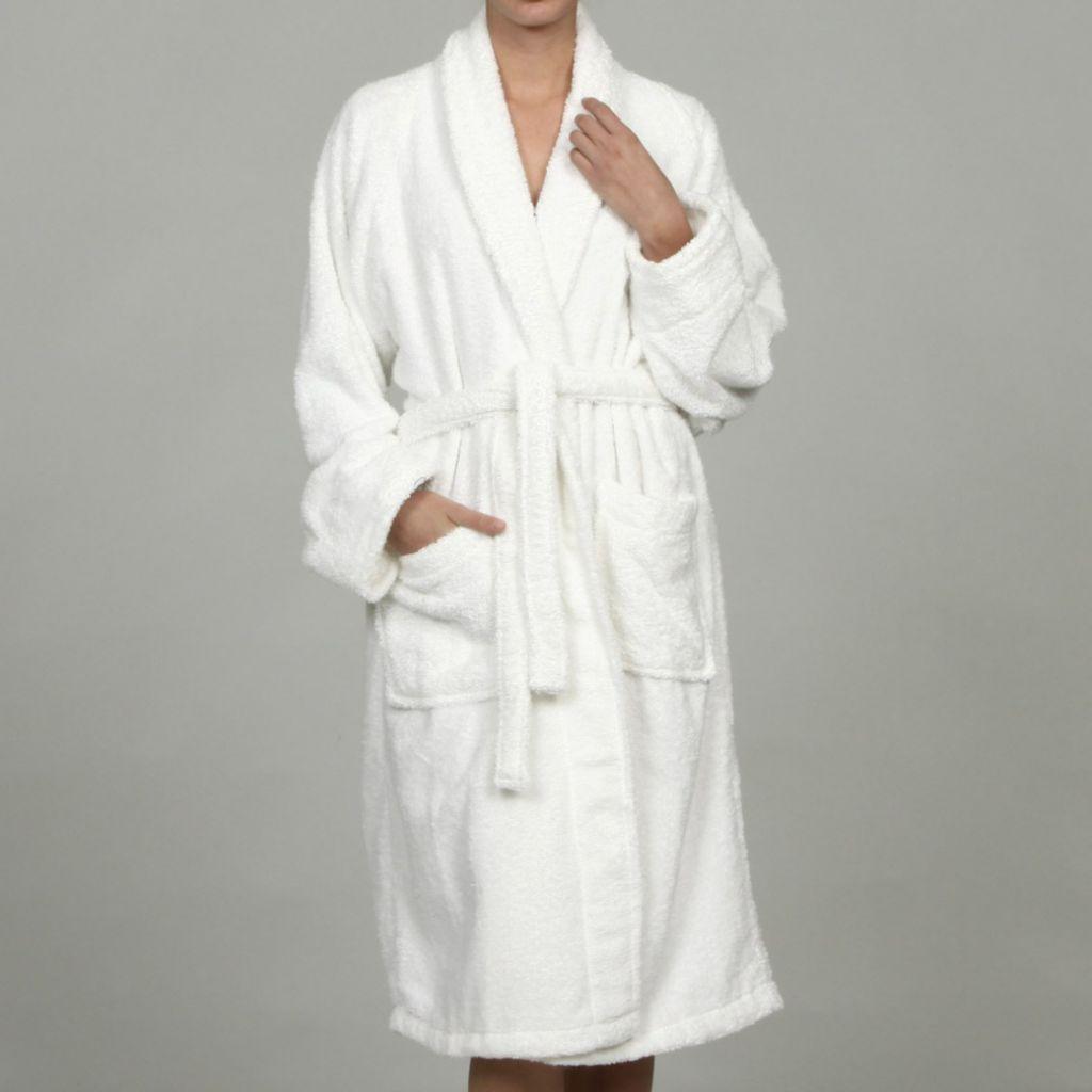 450-495 - Superior Unisex Egyptian Cotton Terry Bath Robe