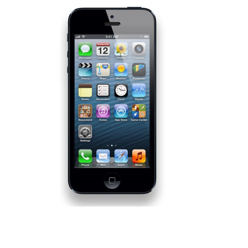 "450-544 - Apple iPhone 5 4"" 16GB 4G LTE Verizon CDMA + Unlocked GSM Smartphone"