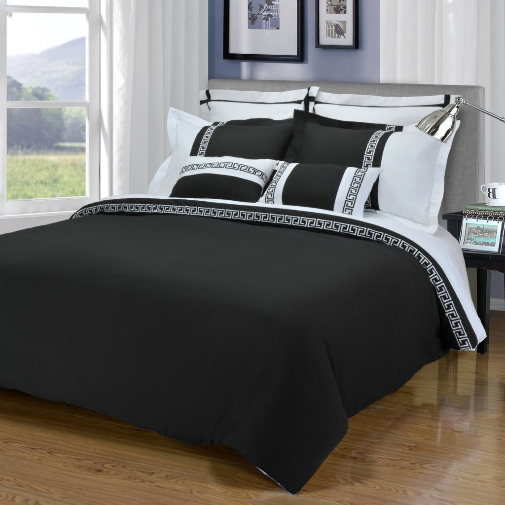 450-622 - Emma by Impressions Microfiber Wrinkle-Resistant Three-Piece Duvet Set