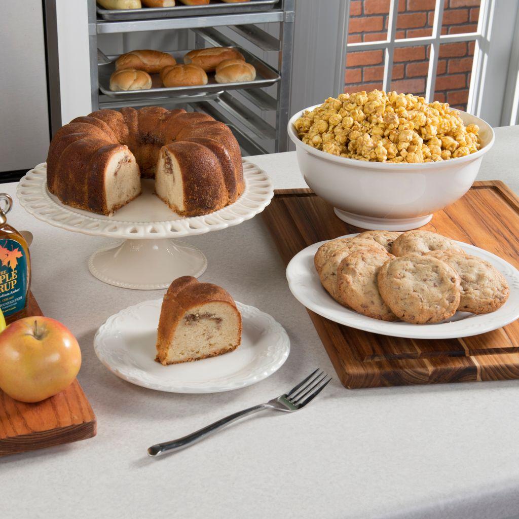 """450-638 - Penn Street Bakery """"Taste of Autumn"""" Bundt-Style Cake, Cookie & Popcorn Three-Tier Tower"""