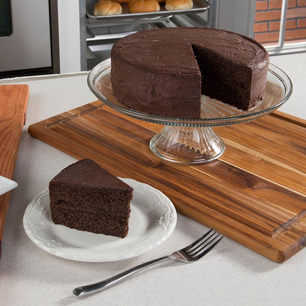 450-710 - Penn Street Bakery Gluten-Free Double Layer Dark Chocolate & Cocoa Cake