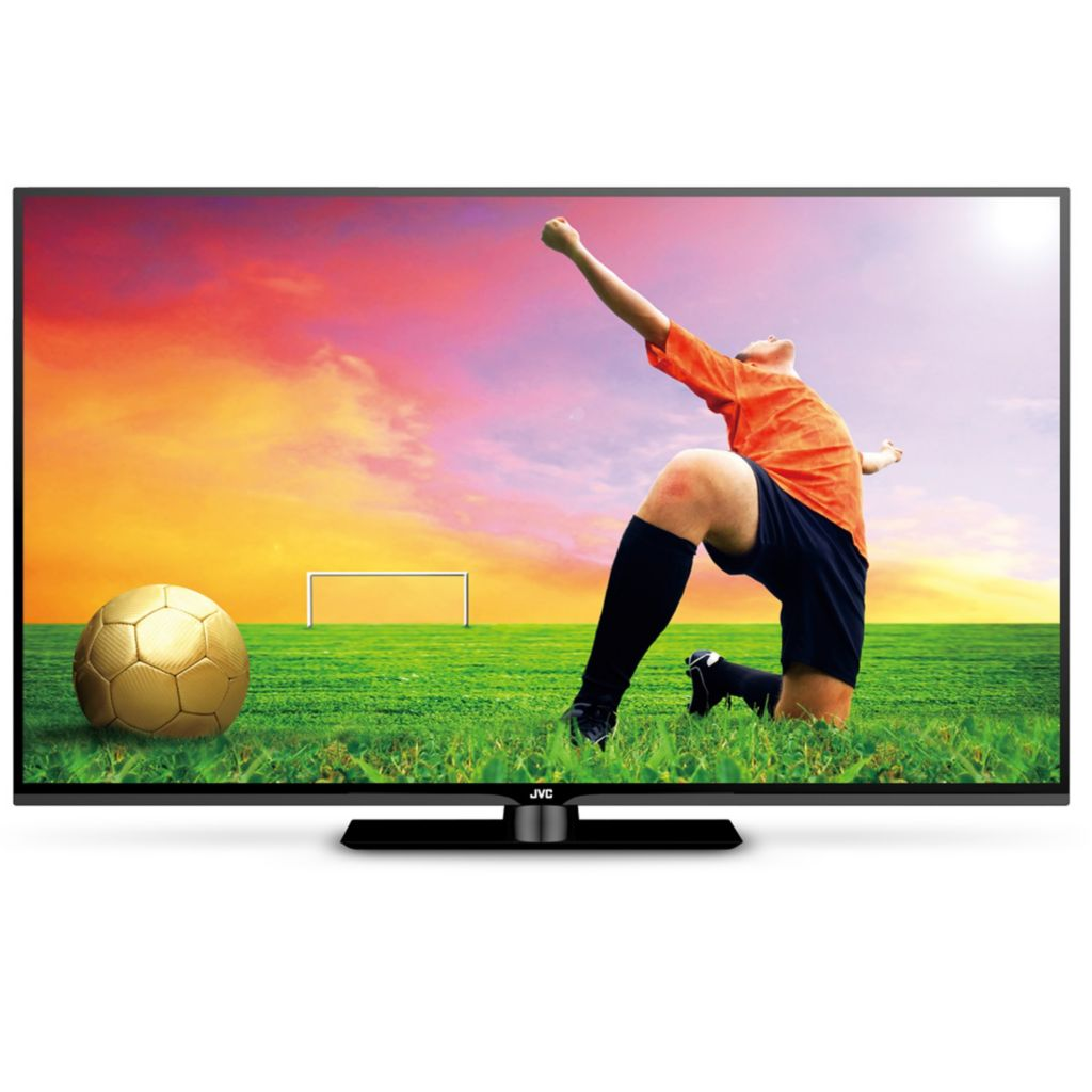 "450-747 - JVC 55"" Class 1080p 120Hz LED Smart HDTV w/ Roku Streaming Stick"