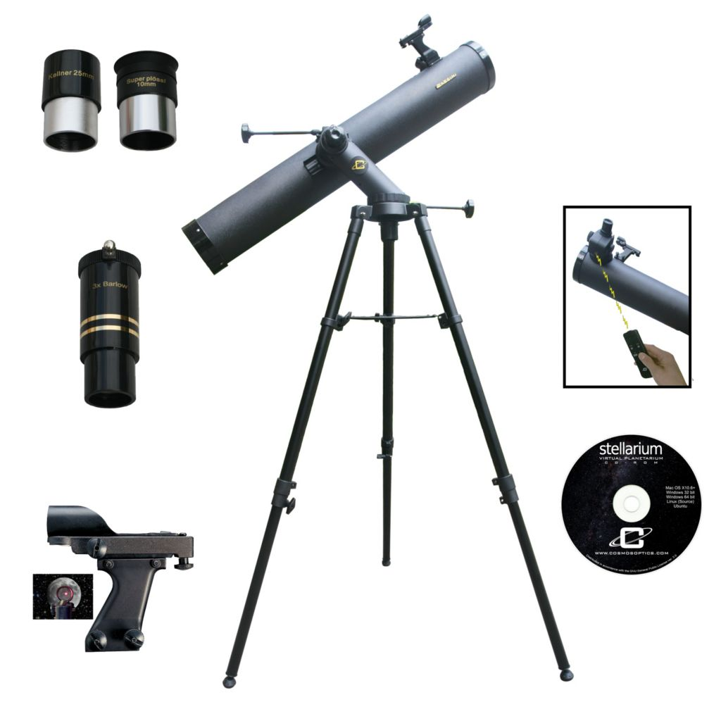 450-764 - Cassini 1000mm x 120mm Tracker Series Reflector Telescope w/ Electronic Focus