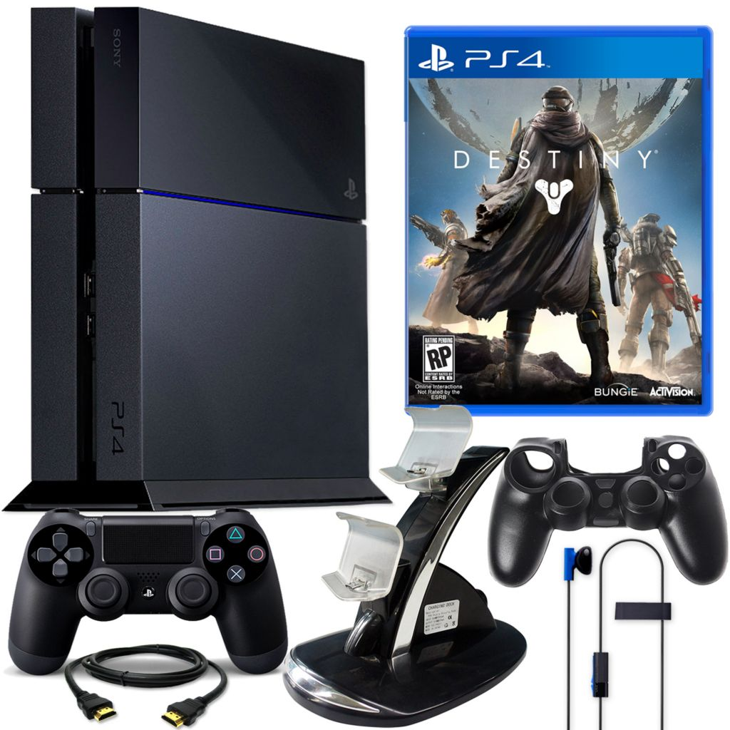450-802 - PS4 500GB Gaming System Bundle w/ Destiny & Accessories