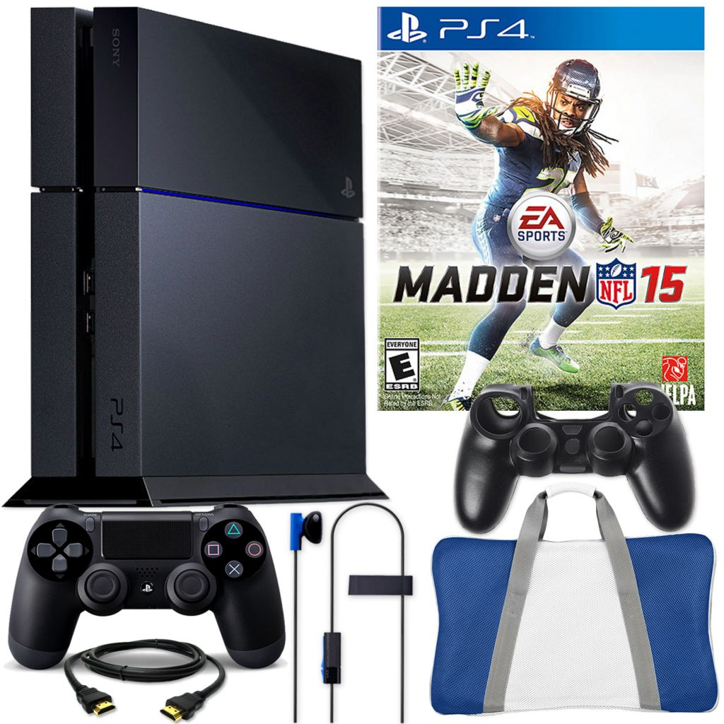 450-808 - PS4 500GB Gaming System w/ Madden NFL 15 & Accessories