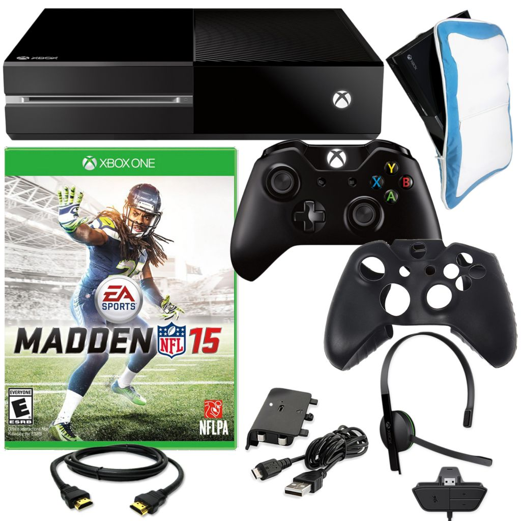 450-811 - XBOX One 500GB Gaming Console w/ Madden NFL 15 & Accessories