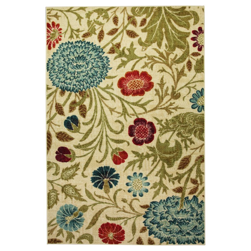 450-886 - Mohawk Home Nylon Bettina Floral Rug