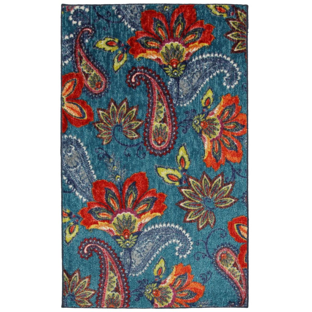 450-889 - Mohawk Home Nylon Whinston Floral Rug