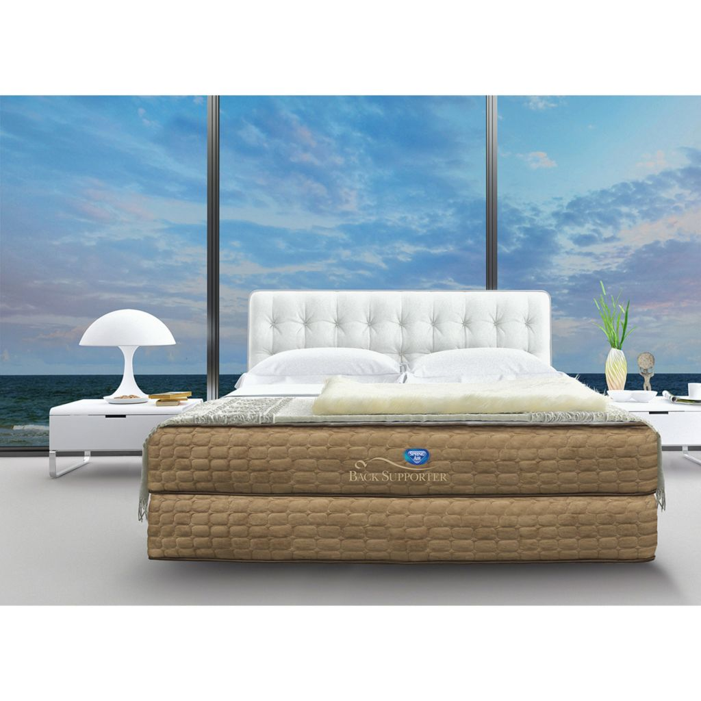 450-927 - Spring Air 'The Destiny' Firm Mattress Set