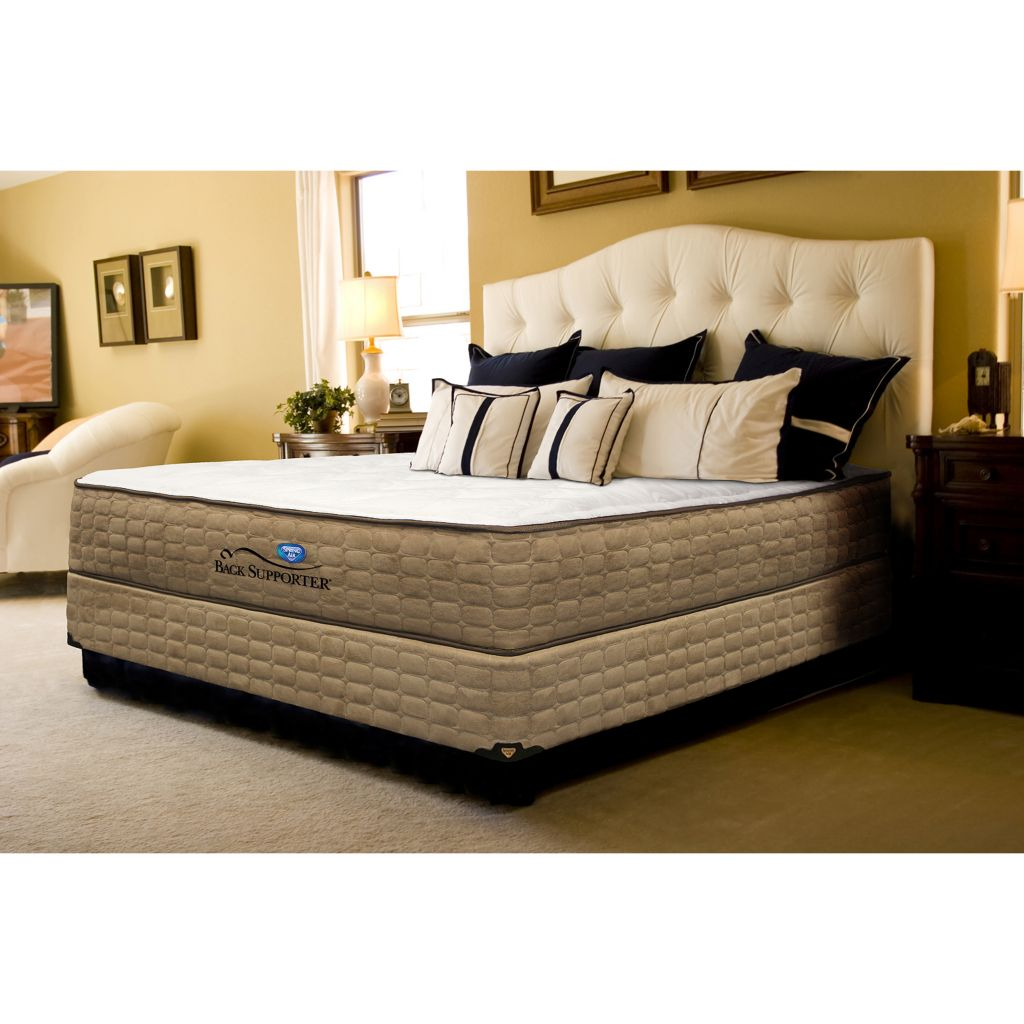 450-929 - Spring Air 'The Destiny' Plush Mattress Set