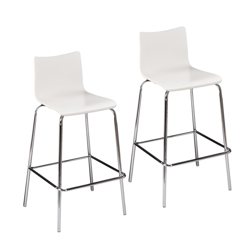 "450-953 - Holly & Martin Set of Two 38"" Blence Bentwood Barstools"