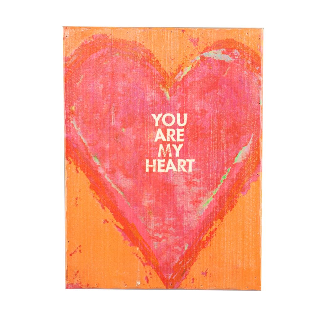 """450-981 - Holly & Martin 16"""" x 12"""" Swoon Textured Wood Ready to Hang Wall Art"""