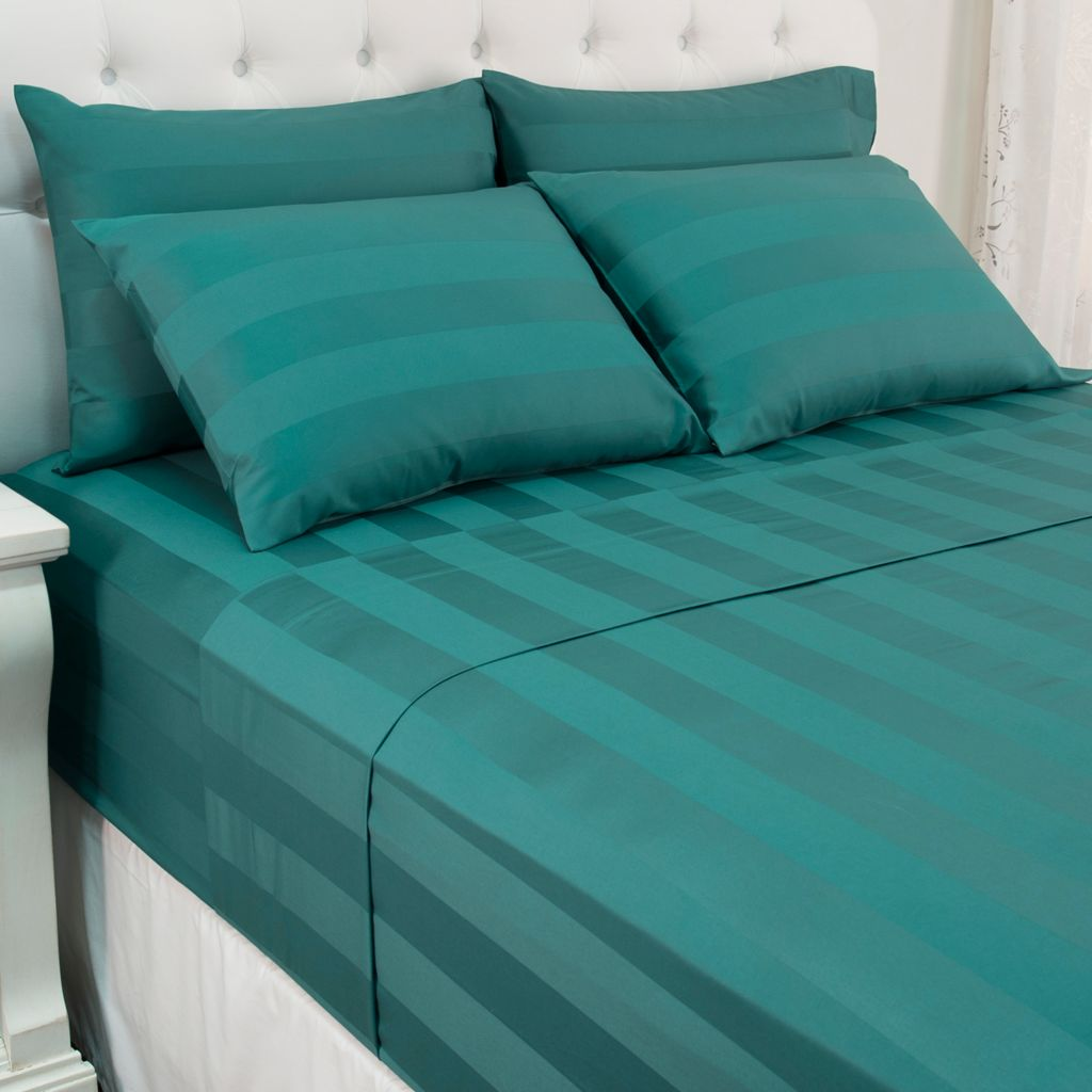 north shore living 500tc 100 egyptian cotton damask suresoft - 100 Egyptian Cotton Sheets