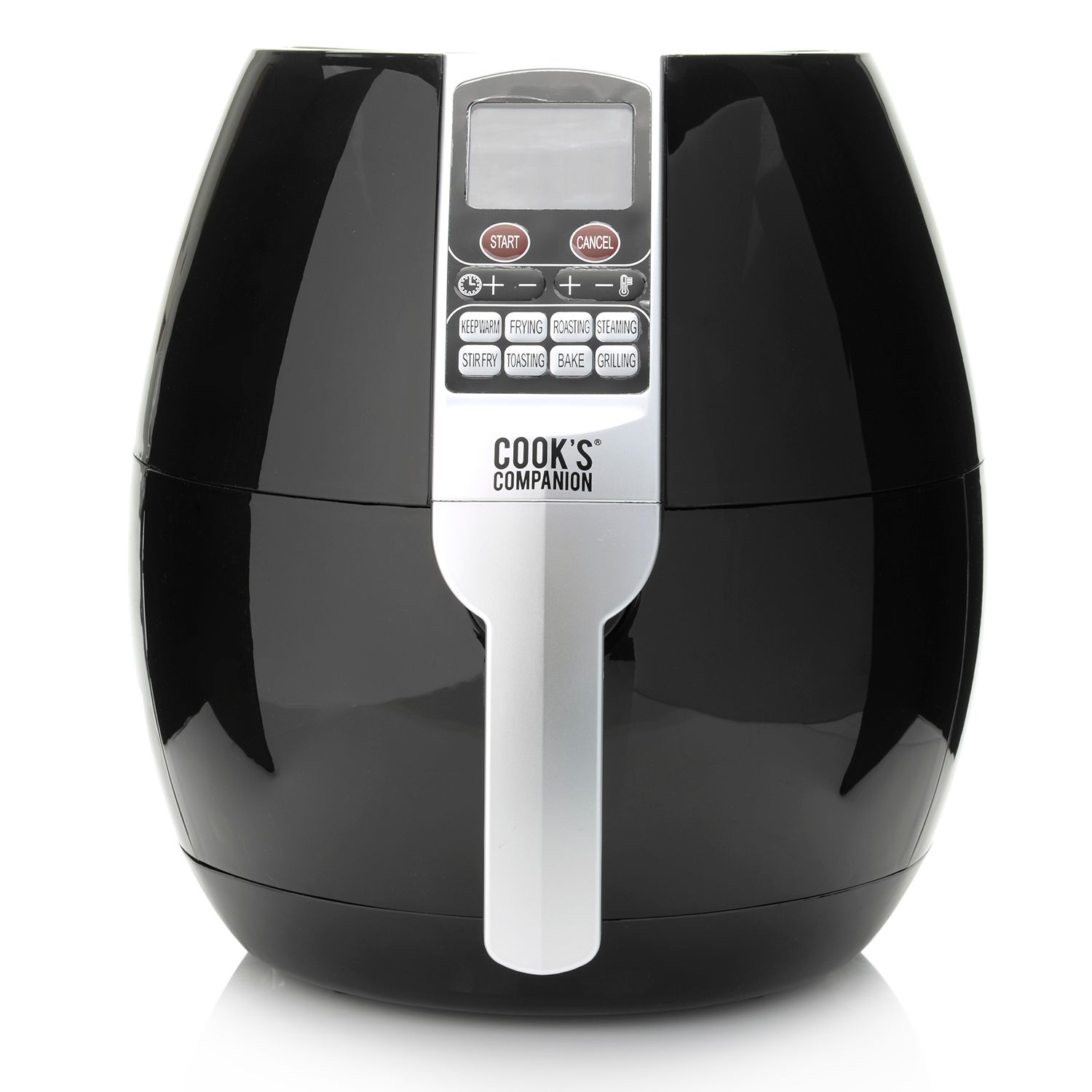 455-155- Cook's Companion® 1500W Digital Air Fryer w/ Eight Cooking Modes