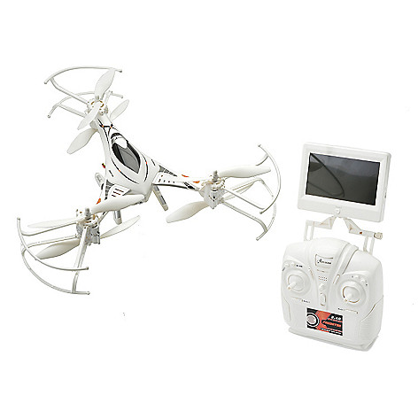463 379 Riviera Predator 720p Video Drone W 43 FPV Screen Remote