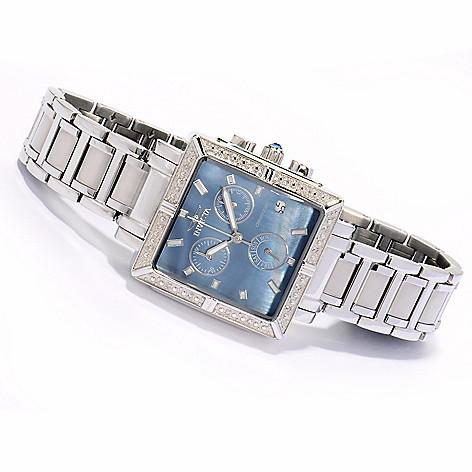 605-804 - Invicta Women's Angel Quartz Chronograph Stainless Steel Bracelet Watch
