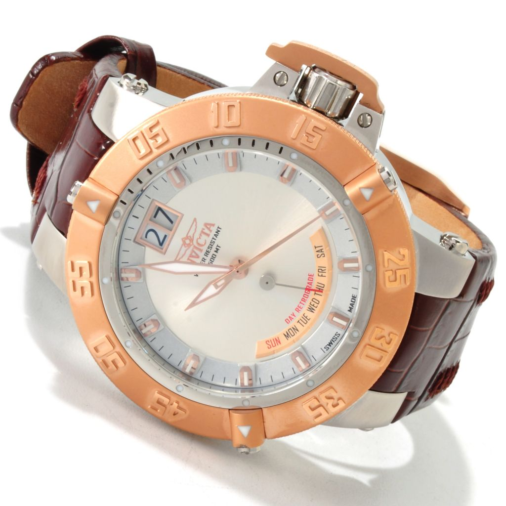 606-254 - Invicta Men's Subaqua Noma III Swiss Made Quartz Stainless Steel Strap Watch