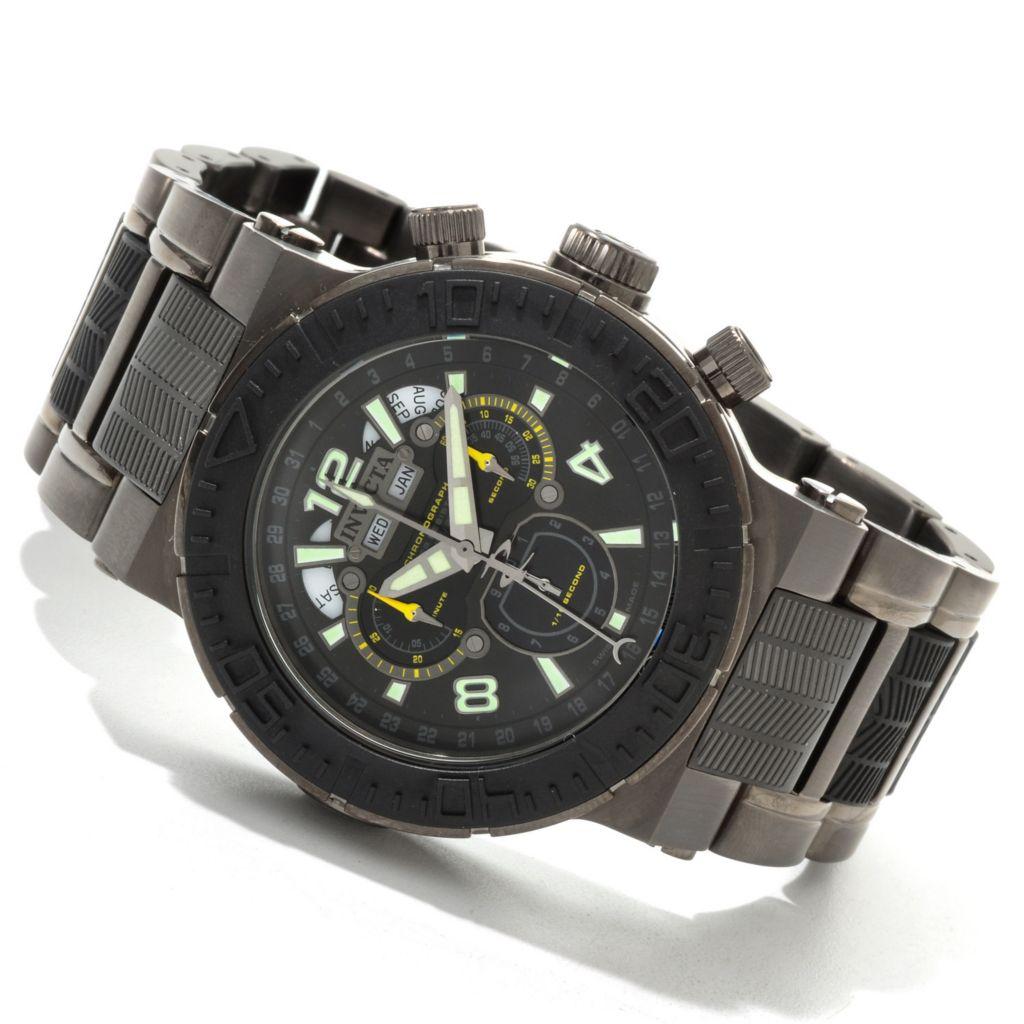 606-564 - Invicta Reserve 46mm Ocean Reef Swiss Made Quartz Chronograph Bracelet Watch
