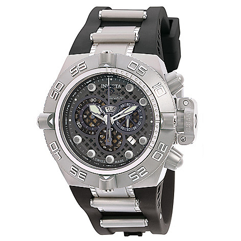 607-026 - Invicta Men's Subaqua Noma IV Swiss Chronograph Stainless Steel Strap Watch