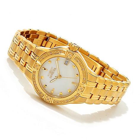 607-609 - Invicta Women's Wildflower Classique Diamond Accented Bracelet Watch