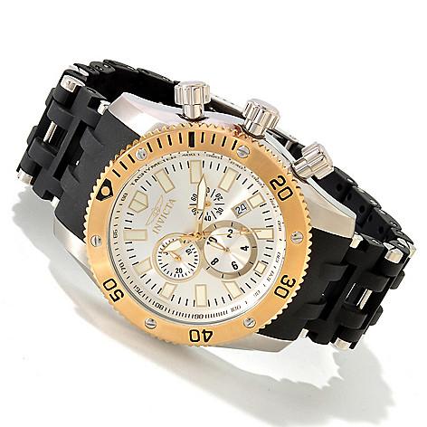 607-825 - Invicta 50mm Sea Spider Scuba Quartz Chronograph Stainless Steel Bracelet Watch