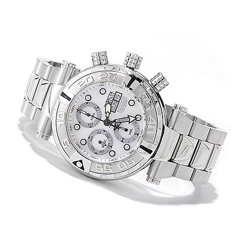 607-833 - Invicta Reserve 47mm Subaqua Noma I Limited Edition Automatic Valjoux 7750 Bracelet Watch