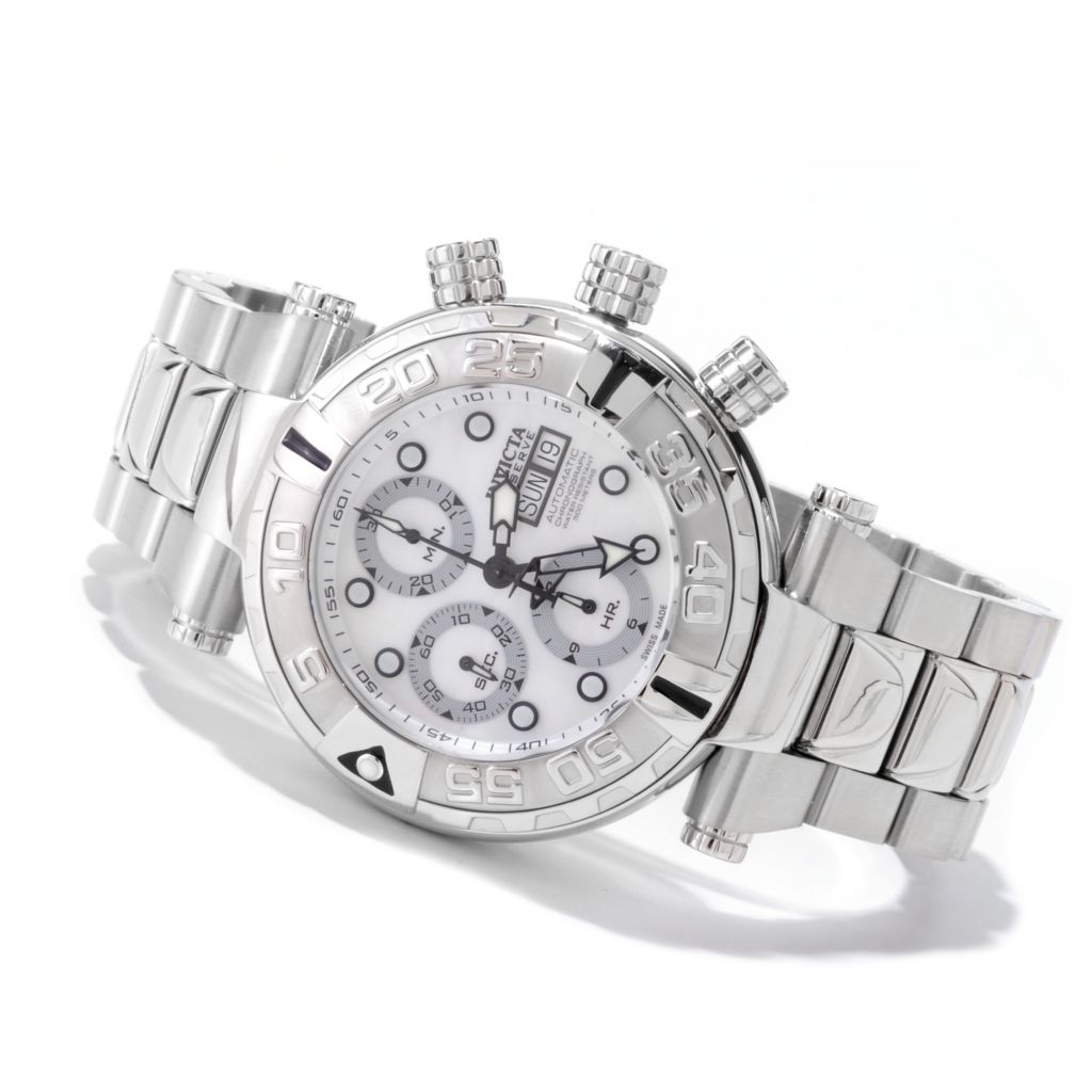 607-833 - Invicta Reserve Men's Subaqua Noma I Limited Edition Automatic Valjoux 7750 Bracelet Watch