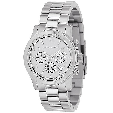 609-008 - Michael Kors Women's Quartz Chronograph Stainless Steel Bracelet Watch