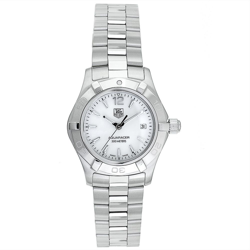 609-615 - Tag Heuer Women's Aquaracer Swiss Quartz Mother-of-Pearl Dial Bracelet Watch