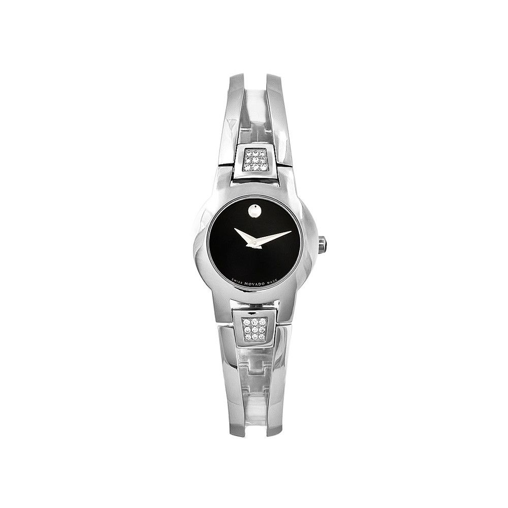 609-897 - Movado Women's Amorosa Swiss Quartz Stainless Steel Bracelet Watch