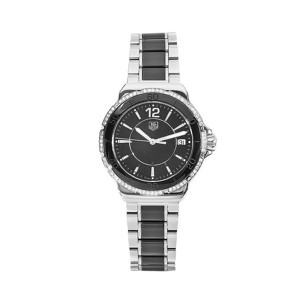 611-606 - Tag Heuer Women's Formula 1 Swiss Quartz Diamond Bezel Watch